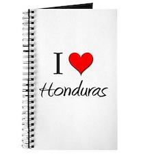 I Love Honduras Journal