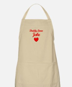 Daddy Loves Jake  BBQ Apron