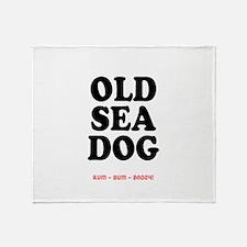 OLD SEA DOG - Throw Blanket