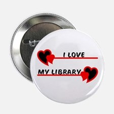 "I love My Library 2.25"" Button"