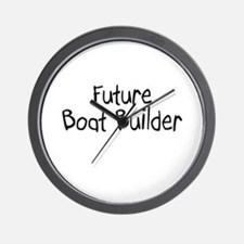Future Boat Builder Wall Clock