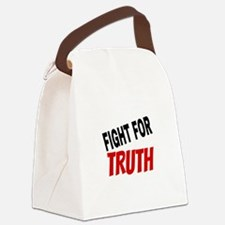 Funny Current events Canvas Lunch Bag