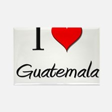 I Love Guatemala Rectangle Magnet