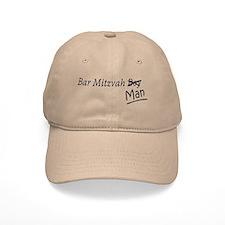 Funny Boy-to-Man Bar-Mitzvah Gift Baseball Cap
