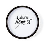 Future Biologist Wall Clock