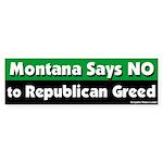 Montana Republican Bumper Sticker