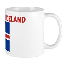 ID RATHER BE IN ICELAND Small Mug
