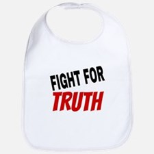Fight For Truth Baby Bib