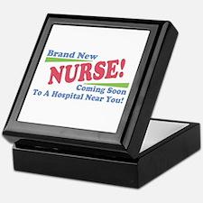 Brand New Nurse Student Keepsake Box