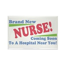 Brand New Nurse Student Rectangle Magnet