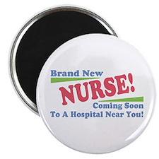 "Brand New Nurse Student 2.25"" Magnet (10 pack)"