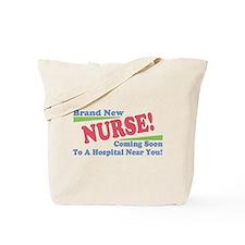 Brand New Nurse Student Tote Bag
