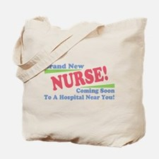 Brand New Nurse Student Tote Bag