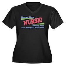 Brand New Nurse Student Women's Plus Size V-Neck D
