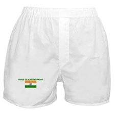 PROUD TO BE AN INDIAN DAD Boxer Shorts