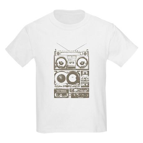 Boombox. Kids Light T-Shirt