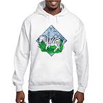 Zebra Hooded Sweatshirt