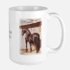 """he waits for her"" Large Mug"