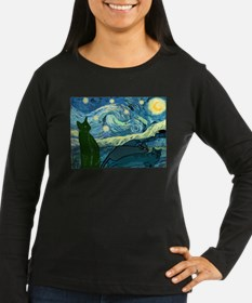 Van Goghs Cats Long Sleeve T-Shirt