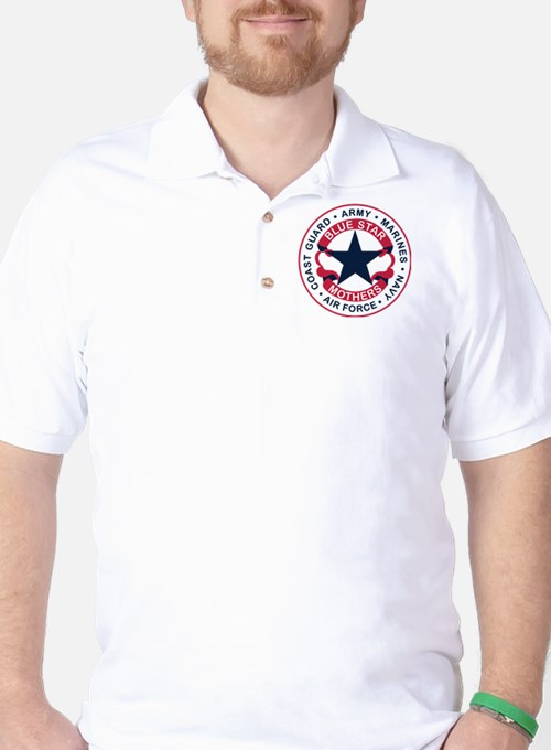 Cute Blue star mothers flag T-Shirt