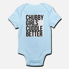 Chubby Girls Cuddle Better Body Suit