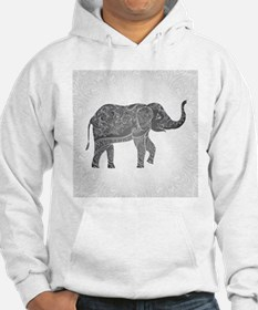Indian Elephant Jumper Hoody