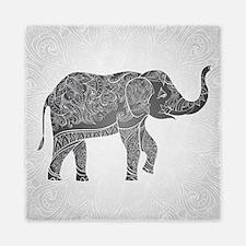 Indian Elephant Queen Duvet