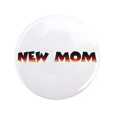 "Dogs pregnancy NEW MOM 3.5"" Button"