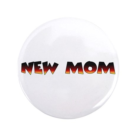 "Dogs pregnancy NEW MOM 3.5"" Button"