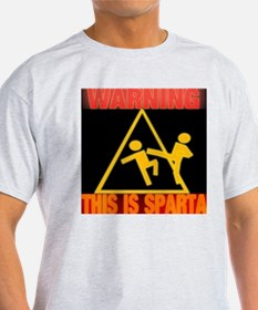 Warning This Is Sparta T-Shirt
