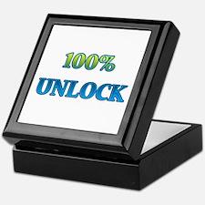 100% Unlock II Keepsake Box