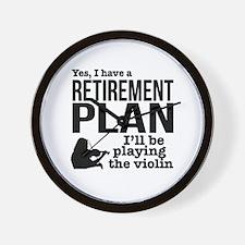 Unique Retirement ideas Wall Clock
