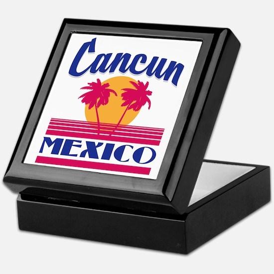 Cute Cancun Keepsake Box