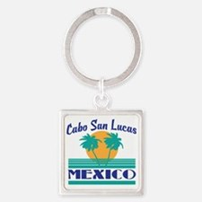 Funny Cabo Square Keychain