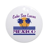 Cabo san lucas Round Ornaments