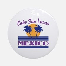 Cute Cabo san lucas Round Ornament