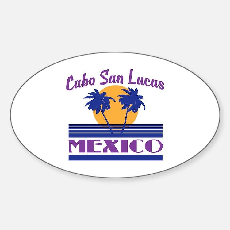 Cute Cabo san lucas Sticker (Oval)