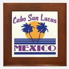 Cute Cabo san lucas Framed Tile