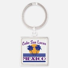 Cute Cabo Square Keychain