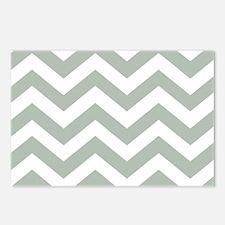 Chevron Zig Zag Pattern: Postcards (Package of 8)