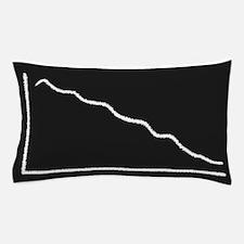 Decline Graph Pillow Case
