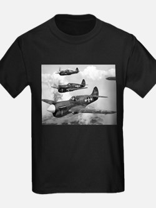 P-40 Squadron Ash Grey T-Shirt