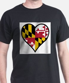 Love Maryland T-Shirt