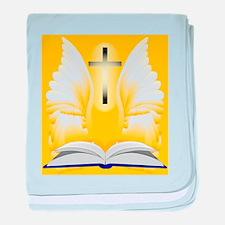 Easter Reading baby blanket