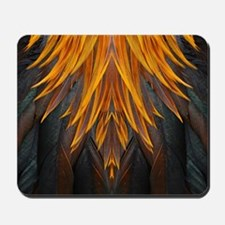Abstract Feathers Mousepad