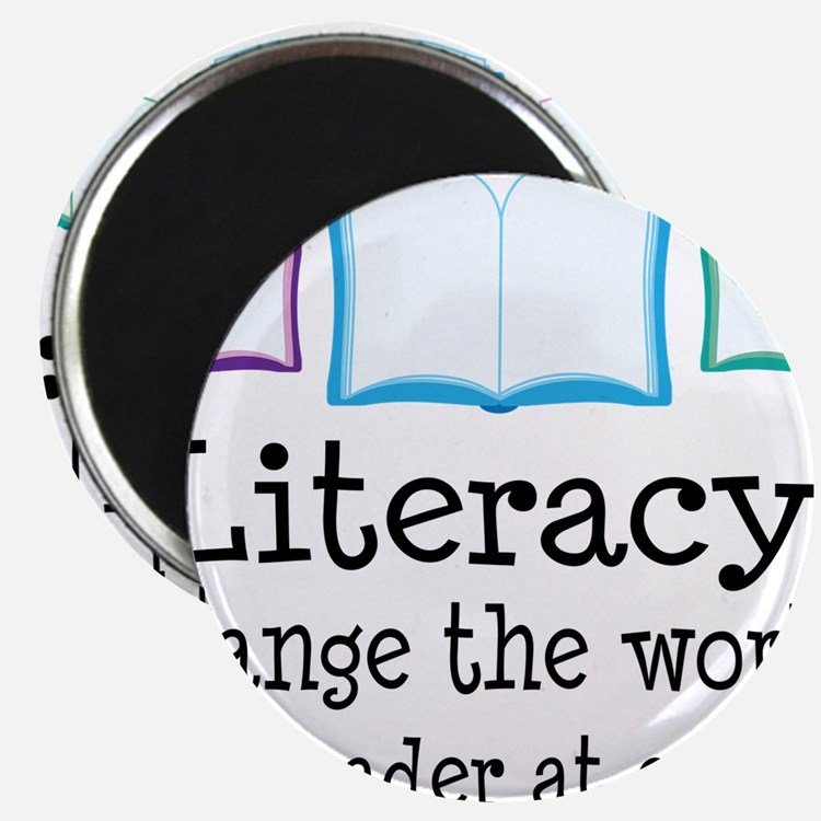 Literacy Reading Quote Magnets