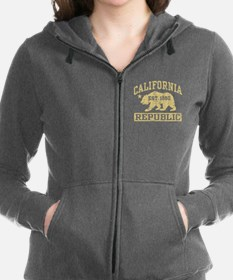 Cute California boy Women's Zip Hoodie