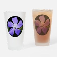 Lavender Ice Drinking Glass