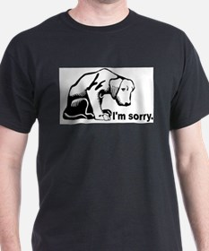 I'm sorry puppy Ash Grey T-Shirt