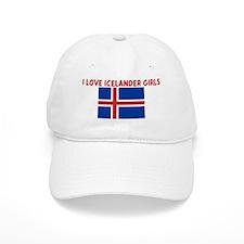 I LOVE ICELANDER GIRLS Baseball Cap